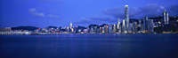 Hong Kong skyline from West Kowloon, Hong Kong - OTHK