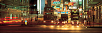 Nathan Road at night, Hong Kong - OTHK