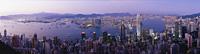 Cityscape from the Peak, Hong Kong - OTHK