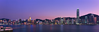 Hong Kong skyline from Kowloon at dusk - OTHK