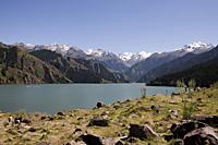 Tianshan Lake (Lake of Heaven), Wulumuqi, Xinjiang, China - OTHK