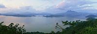 Plover Cove Reservoir at dawn, Hong Kong - OTHK
