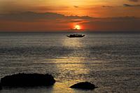 Sunset over Eagle Point, Sepok Island, Philippines - OTHK