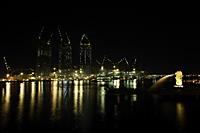 Night shot of Marina Bay Singapore - Nugene Chiang
