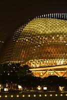 Night shot of Esplanade Theater, Singapore - Nugene Chiang