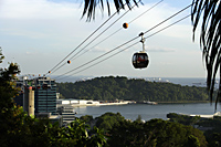 cable cars, Singapore - Nugene Chiang