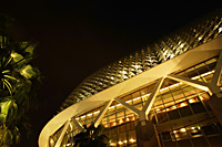 Night view of Esplanade Theater, Singapore - Nugene Chiang