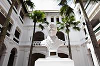 Court yard of Raffles Hotel, Singapore - Yukmin
