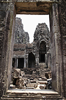 Door way in Angkor Wat, Cambodia - Alex Mares-Manton