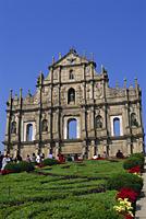 China,Macau,Ruins of St.Paul's Church - Travelasia