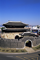 Korea,Seoul,Suwon,Hwaseong Fortress,Paldalmun,South Gate - Travelasia
