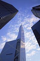 China,Hong Kong,Central,Bank of China and Modern Buildings - Travelasia