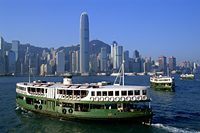 China,Hong Kong,Star Ferry and City Skyline - Travelasia