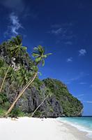 Philippines,Palawan,Bascuit Bay,El Nido,Entalua Island,Palm Beach - Travelasia