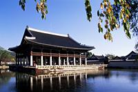 Korea,Seoul,Gyeongbokgung Palace,Gyeonghoeru Pavilion - Travelasia