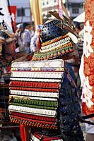 Japan,Tokyo,Men Dressed in Samurai Costume at Jidai Matsuri Festival held Annually in November at Sensoji Temple Asakusa - Travelasia