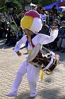 Korea,Seoul,Namsangol Hanok Village,Farmers Dance - Travelasia