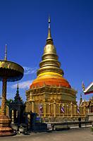 Thailand,Chiang Mai,Lamphun,Wat Haripunchai - Travelasia