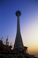 China,Macau,Macau Tower at Dawn - Travelasia