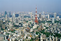 Japan,Tokyo,Tokyo Skyline from Tokyo City View Tower at Roppongi Hills - Travelasia
