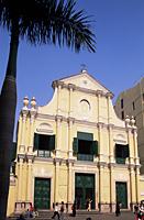 China,Macau,St Dominics Square,St Dominics Church,Santo Domingo Church - Travelasia