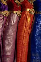 Thailand,Bangkok,Traditional Silk Dresses - Travelasia