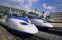 Korea,Seoul,Seoul Train Station,KTX Express Trains - Travelasia