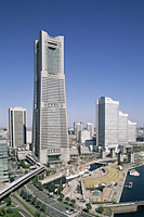 Japan,Yokohama,Minato Mirai District,Landmark Tower - Travelasia
