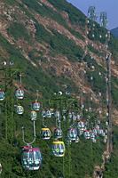 China,Hong Kong,Ocean Park,Gondolas - Travelasia