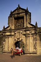 Philippines,Manila,Entrance to Fort Santiago in the Intramuros Historical District - Travelasia