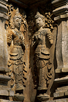 Thailand,Chiang Mai,Statue Detail at Wat Jet Yot - Travelasia
