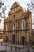 China,Macau,Ruins of St.Paul's Church - Travelasia