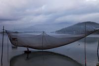 Vietnam,Fishing Net near Danang - Travelasia