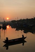 Vietnam,Hoi An,Thu Bon River at Sunrise - Travelasia