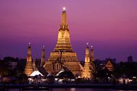Thailand,Bangkok,Wat Arun and Chao Phraya River - Travelasia