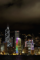 Hong Kong island skyline at night - Alex Mares-Manton