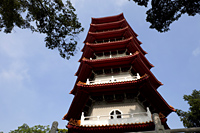 Singapore,Pagoda in the Chinese Garden - Travelasia