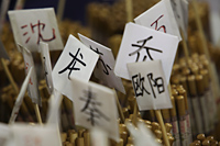 Chopsticks for sale in market - Alex Mares-Manton