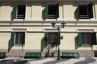 Exterior of old building in Macau - Alex Mares-Manton