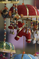 Indian decoration with elephants and bells - Alex Mares-Manton