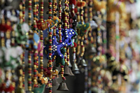 Indian decorations with beads and bells - Alex Mares-Manton