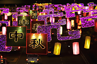 Lantern and light display during the Lantern Festival - Alex Mares-Manton
