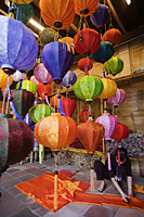 Vietnam,Hoi An,Paper Lantern Shop Display - Travelasia
