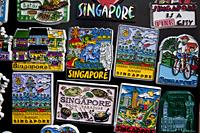 Singapore,Chinatown,Souvenir Fridge Magnets - Travelasia
