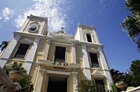 Old church building, Macau, China - Alex Mares-Manton