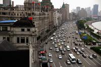 Traffic along The Bund,  Shanghai, China - Yukmin