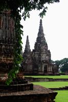 Stone Wat at Ayutthaya, Thailand - Alex Mares-Manton