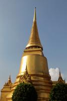 Gold Wat at Grand Palace, Bangkok Thailand - Alex Mares-Manton