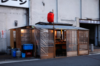 Street side noodle bar in Japan - Yukmin