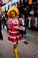Character in Cosplay Costume. Harajuku,Takeshita Dori, Japan - Travelasia